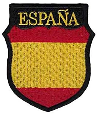 Gemelolandia Parche Termoadhesivo del Escudo de Brazo de la División Azul de voluntarios Españoles 7x6cm: Amazon.es: Ropa y accesorios