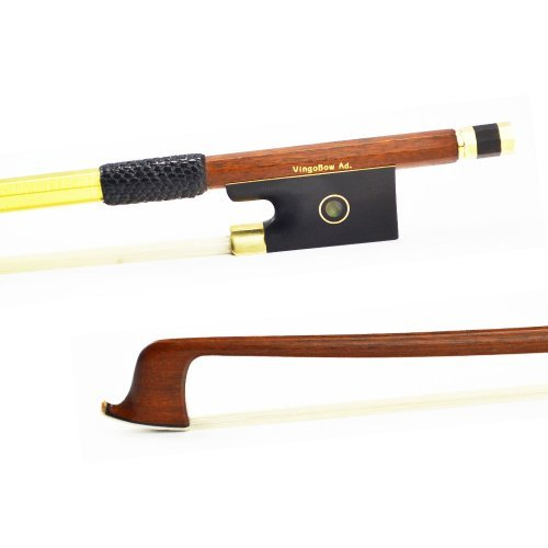 VingoBow 4/4 Stunning Pernambuco Violin Bow! MELLOW and SWEET Tone, STRAIGHT and Well BALANCED For Professional Player HURRY! Art No.812V by VingoBow
