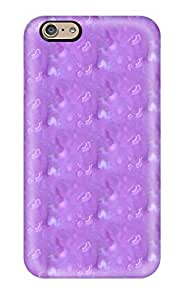 Excellent Iphone 6 Case Tpu Cover Back Skin Protector Pretty Lavender Pattern