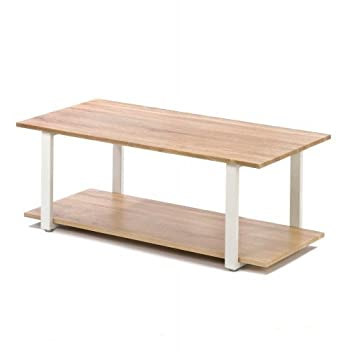 Home Locomotion Contemporary Cottage Coffee Table - Modern Design - Perfect for Your Home - Lightweight & Strong
