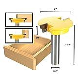 1/2 Inch Shank Rail Stile Router Bit Shaker Woodworking Chisel Cutter Set