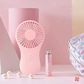 XUANQING Mini Portable Pocket-Sized Hand-held Fan Cool Air Travel Cooler Mini Fan Power by 3X AAA Batteryl29k Color : Green, Size : CN