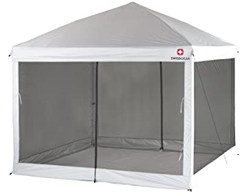 Swiss Gear Smart Shade 10- by 10-Foot Screenhouse  sc 1 st  Amazon.com : swiss gear canopy - memphite.com