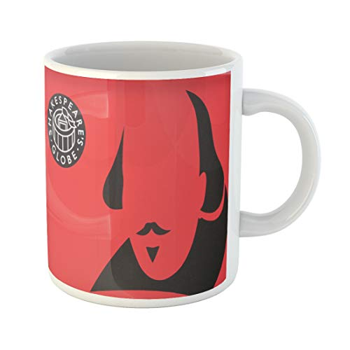 Semtomn Funny Coffee Mug London May 12 External Graphics Identifying Shakespeare Globe on Reconstruction 11 Oz Ceramic Coffee Mugs Tea Cup Best Gift Or Souvenir ()