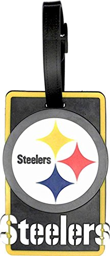 - aminco NFL Pittsburgh Steelers Soft Bag Tag