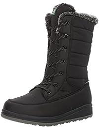 Kamik Women's Bailee Snow Boots, Black, 9 M US