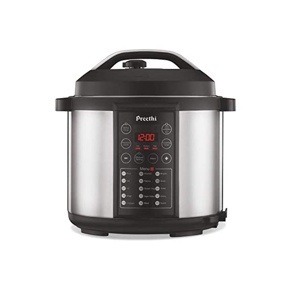Preethi Touch EPC005 6-Liter Electric Pressure Cooker (Black) 1