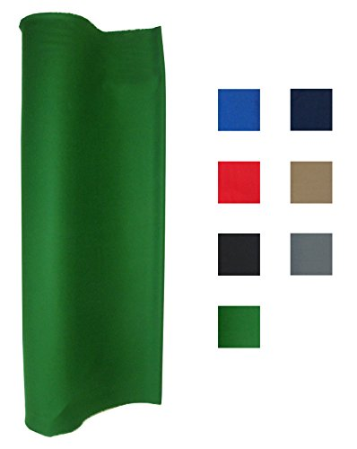 English Pool Table (Performance Grade Pool - Billiard Cloth - Felt For A 7 Foot Table English Green (English Green))