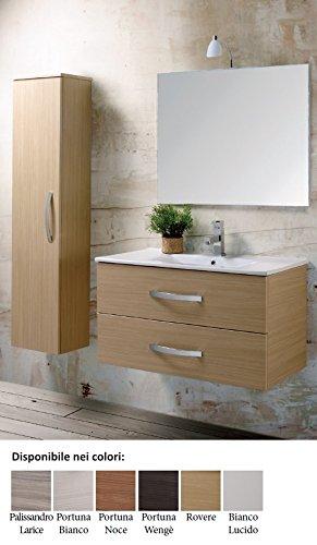 Europrimo mobile da bagno composizione sospeso con lavabo e ...