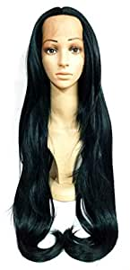 Estelle Fashion Women Straight Hair front lace wig deep invisible part wig