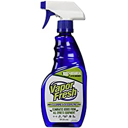 Vapor Fresh® Natural Cleaning and Deodorizing Spray for Gym Equipment and Sports Pads, 16 Ounces