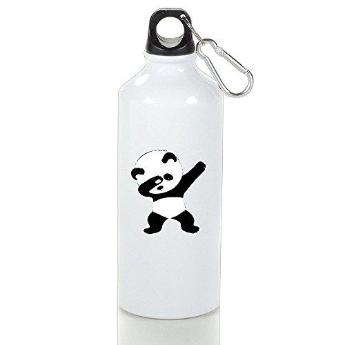 Large Dance Mug (Wooun-6 Bicycle Aluminum Water Bottle Panda Dance Travel Water Bottle)