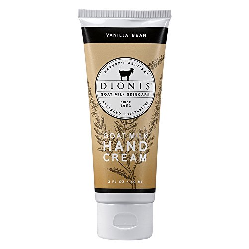 Dionis Goat Milk Skincare - Hand Cream Vanilla Bean - 2 oz. by Dionis Goat Milk (Skin Care Vanilla Bean)