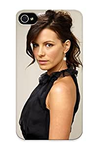 Stylishgojkqt Durable Defender Case For Iphone 4/4s Tpu Cover(kate Beckinsale) Best Gift Choice