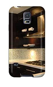 JlbVlUb2920JNDZT ZippyDoritEduard Awesome Case Cover Compatible With Galaxy note4 - Kitchen With Dark Cabinets Undermount Sink And Small Tile Backsplash
