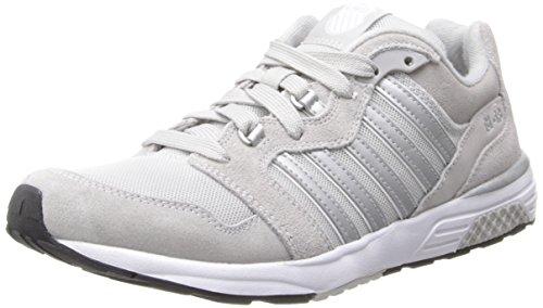 K-Swiss Women's SI-18 Rannell 2 Sneaker,Gray/Silver,6 M US