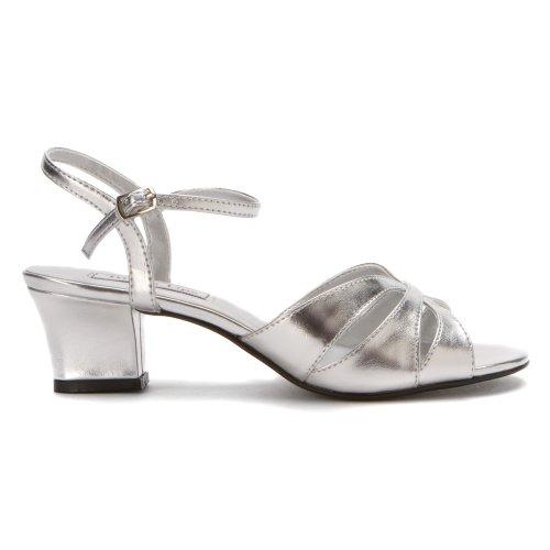 Women's 10 heels Silver Touch M Ups Monaco Silver qpxAPPU