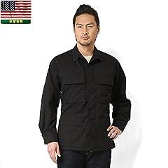 U.S. Armed Force BDU Jacket: Black
