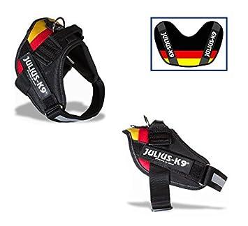 Julius-K9 - Arnés IDC Powerharness con bandera alemana, talla 3 ...