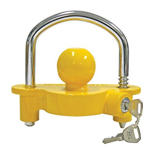 Reese Universal Trailer Coupler Lock 72783 New with 2 Keys by Hitch Pins (Image #1)