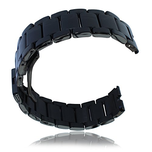Lucco Stainless Watchbands Bracelet Push button