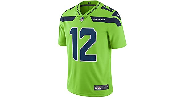 hot sale online 0e78c 0f098 Amazon.com: Nike Seattle Seahawks Color Rush Legend Edition ...