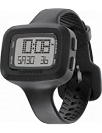 Converse Women's VR025001 Understatement Classic Digital and Black Silicone Strap Watch