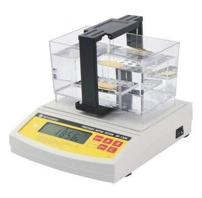 CGOLDENWALL DE-120K - Medidor digital electrónico de pureza de oro y plata, detector