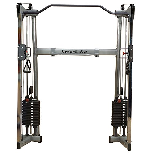 Crossover Kickback (#GDCC200 Body-Solid Functional Trainer Home Gym with 310lb. Black Stacks)