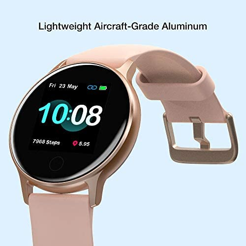 """Smart Watch, UMIDIGI Uwatch 2S Fitness Tracker Heart Rate Monitor, Activity Tracker with 1.3"""" Touch Screen, 5ATM Waterproof Pedometer Smartwatch Sleep Monitor for iPhone and Android. 2"""