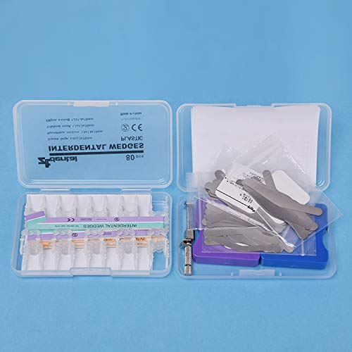 Annhua Dental Matrix Bands Kit,Matrix Band with 80 Pcs Plastic Intredental Wedges by Annhua