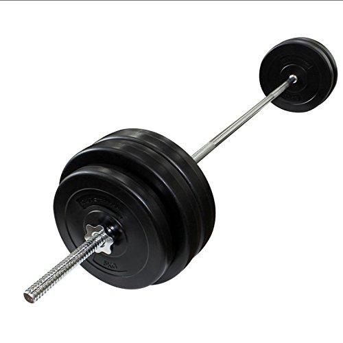 POWRX Strong Line Multi Función Banco de Pesas I con 90 kg Pesas Set I plástico Set para Fitness Entrenamiento de la Fuerza: Amazon.es: Deportes y aire ...