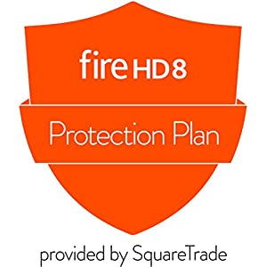 Protection Plan plus Accident Protection for All-New Fire HD 8 Tablet with Alexa (7th Generation, 2017 release) (delivered via email)