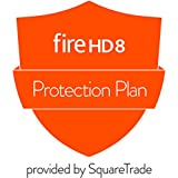 1-Year Protection Plan plus Accident Protection for Fire HD 8 Tablet (2017 release, delivered via e-mail)