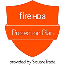 2-Year Protection Plan plus Accident Protection for All-New Fire HD 8 Tablet with Alexa (7th Generation, 2017 release) (delivered via e-mail)