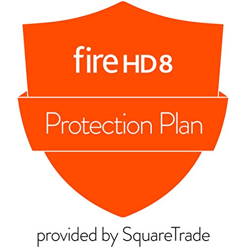 2-Year Accident Protection for Fire HD 8 Tablet (2017 release) (Best Tablet Extended Warranty)