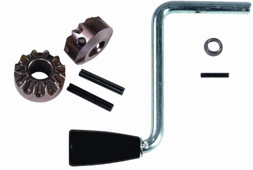 Fulton Replacement Part, Sidewind Crank Kit, Handle, 5-51/64-Inch Radius Assembly and Gear 2000-Pound Jacks