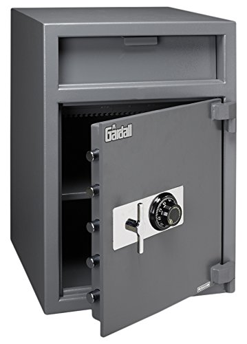 Gardall LCF3020-G-C Front Loading Wide Body Commercial Light Duty Depository Safe w/ Mechanical Combination Lock Grey by Gardall (Image #1)