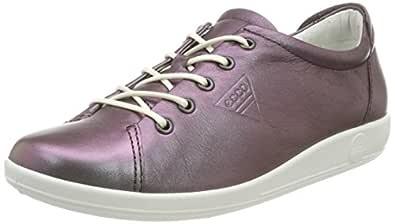 ECCO Women's Soft 2.0 Shoes, Shale, 35 EU