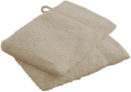 16 x 21 cm 500 gr//m² Today Lot de 2 gants de toilette
