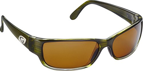 Guideline Eyegear Current Sunglasses, Crystal Green Drift Frame, Freestone Brown - Eyewear Drift