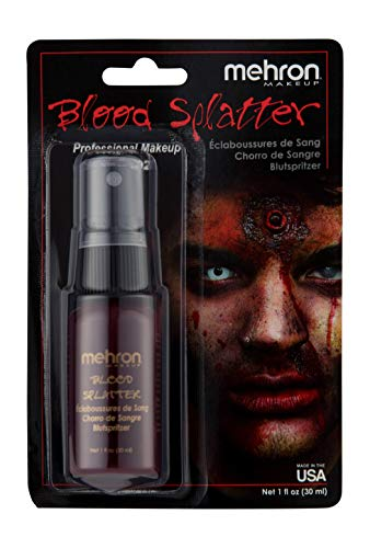 Mehron Makeup Splatter Blood (1 oz) -