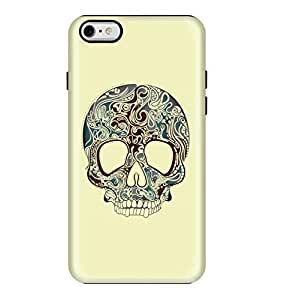 Stylizedd Apple iPhone 6/6s Premium Dual Layer Tough case cover Matte Finish - Skully Tattoo