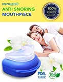 P&J Health Deepsleepro - Snore Stopper Mouthpiece - Snoring Solution, Sleep Aid Night Mouth Guard Bruxism Mouthpiece
