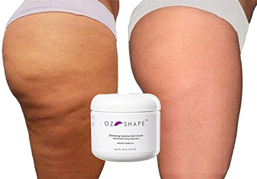 oz shape cellulite gel cream with caffeine and retinol indian ginseng best organic skin. Black Bedroom Furniture Sets. Home Design Ideas