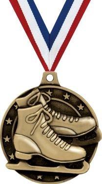 クラウンAwardsゴールドIce Skating Medals – 2