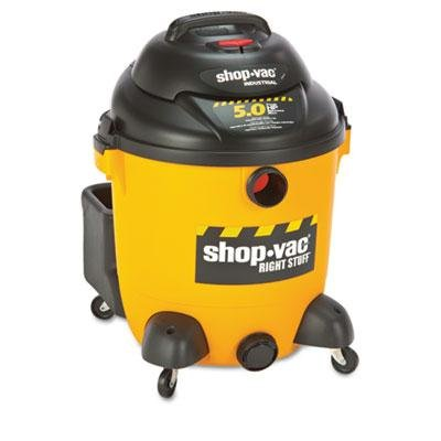 Shop-Vac - Economical Wet/Dry Vacuum 12Gal Capacity 23Lb Black/Yellow