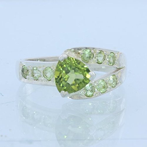 Trillion Accented Ring - 2