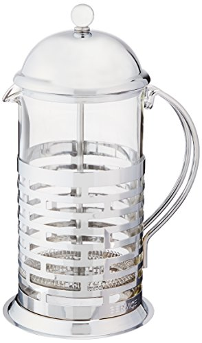 Service Ideas T877B Brick Coffee Press, Polished, 1 L by Service Ideas