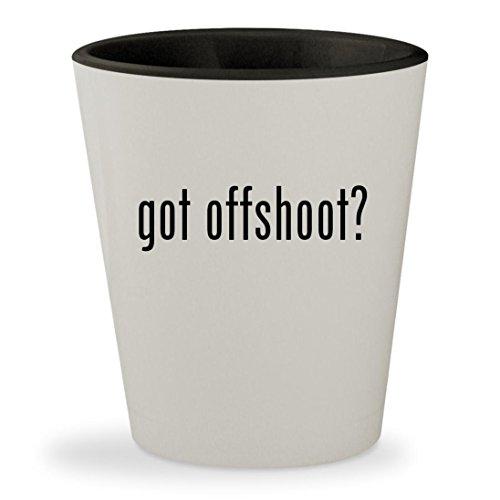 got offshoot? - White Outer & Black Inner Ceramic 1.5oz Shot - Offshoot Shaun White